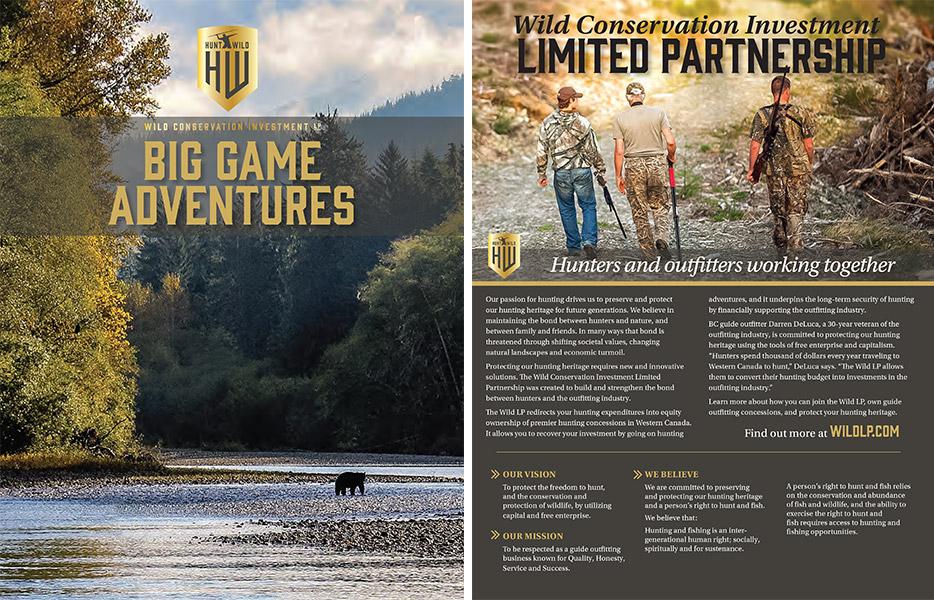 Wild LP Brochure
